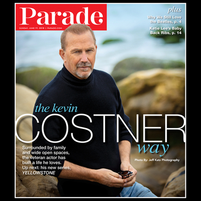 Kevin Costner Parade Magazine Cover